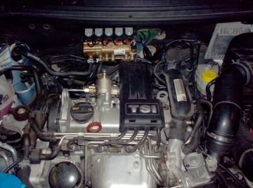 Motorraum, Motorarbeit, Reparaturservice